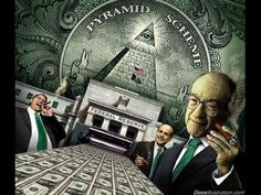 Does a secret banking cartel run the worlds financial market and benefit from controlling the money supply? The government prints money everyday making worth less and less without even flinching. Be wary of The Federal Reserve system of banks. Sistema Global, Black Rocks, Religion, Pyramid Scheme, New World Order, Conspiracy Theories, Stock Market, Wake Up, Napoleon