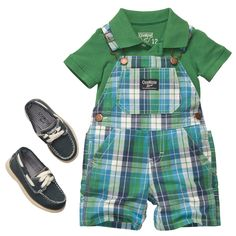 Plaid Polo | Baby Boy Outfits