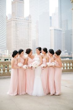 Blushing beauties: http://www.stylemepretty.com/illinois-weddings/chicago/2014/12/15/chicago-botanic-garden-wedding-2/ | Photography: Jenelle Kapp - http://www.jenellekappeweddings.com/