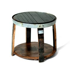 Another maker of these-could be cheaper than other sets. Bourbon Barrel Side Table by Respondé