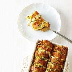 In this recipe from the River Cottage Fish Book, chef Hugh Fearnley-Whittingstall layers baguette and lump crabmeat, then pours custard on top.Recipe: Buttery Crab Bread Pudding