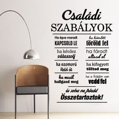 House Quotes, Positive Thoughts, Hygge, Wall Stickers, Decoupage, Diy And Crafts, Motivational Quotes, Projects To Try, Restaurant