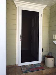 phantom screen doors. Security Screen Door Single Entry Phantom Doors