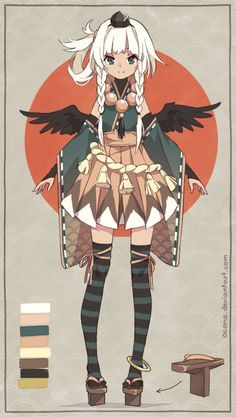 [CLOSED] ADOPTABLE | Tengu by ocono.deviantart.com on @DeviantArt