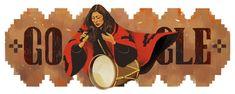 Celebrating Mercedes Sosa Google Doodles, Happy Birthday Google, Happy Birthday Images, American Folk Music, Family Lineage, Folk Festival, Sistine Chapel, Saddest Songs, What Inspires You