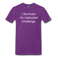 The Icebucket T-Shirt For Men is sold exclusively at PersonalizedSouvenirs.com.
