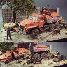 1/35 diorama. Modeler udgin69