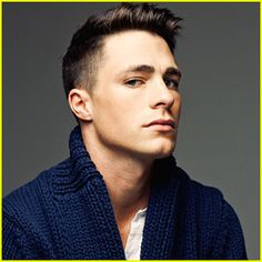 Colton Haynes on Abercrombie & Fitch, Arrow, and Spoofing Jennifer Lawrence Most Beautiful Man, Gorgeous Men, Look Man, Hot Actors, Actors Male, Haircuts For Men, Haircut Men, Men's Haircuts, Jennifer Lawrence