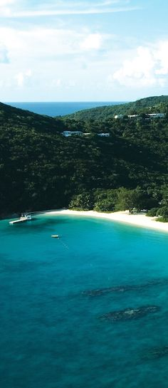 In the British Virgin Islands, Guana Island is an 850-acre nature preserve with 18 rooms.