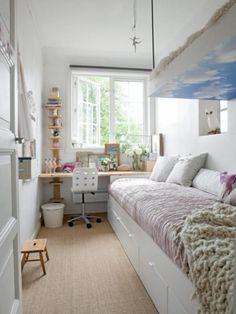 21 Ide Furnitur untuk Kamarmu yang Relatif Sempit - Feed Bintang.com