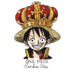 Luffy- Pirate King; Eiichiro Oda