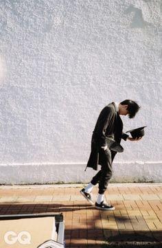 Goodbye Yesterday : 계절의 처음과 마지막 pt.1 | GQ Korea | December 2014 | model Kim Wonjoong (김원중) | photographer JDZ Chung