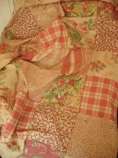 sidmouth poppy--my favorite combination--florals and plaids