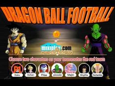 dragon ball football game. Play game at http://www.y0-games.com/dragon-ball-football.html. Come now to play football game! Pick your favorate character of Dragon Ballz to begin. You can enjoy it yourself or play it with your friends under two-player mode.