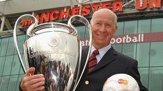Sir Bobby Charlton. #ferguson, #rooney, #manutd, #soccer, #football, #oldtrafford, #butt, #neville, #busbybabes, #giggs, #best, #charlton