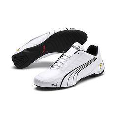 182133572fabc9 PUMA via eBay  PUMA Men s Ferrari Future Kart Cat Motorsport Shoes (White)