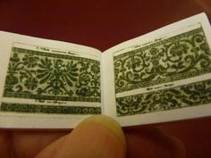 Lace patterns from the book of 1547