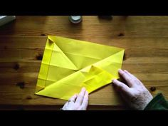 How To Fold an Origami Style Diamond Shape Lamp - Falte Dir eine Origami-artige Rautenlampe! - YouTube