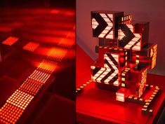 Nike CLC Digital Installation by Super Nature Design lighting
