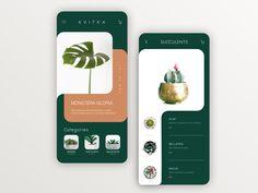 Kvitka by Ana Pierce on Dribbble Mobile Ui Design, App Ui Design, User Interface Design, Design Web, Flat Design, Layout Design, Web Layout, Website Layout, Mise En Page Web