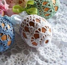 Crochet Gifts, Free Crochet, Knit Crochet, Easter Crafts, Holiday Crafts, Crochet Bookmarks, Fabric Yarn, Easter Crochet, Ornament Crafts