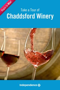 Celebrate and test your knowledge of wine at Chaddsford in the beautiful Brandywine Valley. Follow IBX and repin this image for a chance to win a 50 dollar gift card! #IBXStressFree
