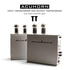 Acuhorn TT Original Hi-Tech Monoblock One Tube Amplifier 6C33C SE Triode Class A #Acuhorn