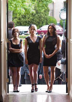 2x05 The Devil You Know - Aria, Hanna, Emily.