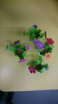 Petit bouquet fleurs en papier