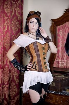 Steampunk Girls: Daedra