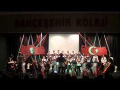 """Bahçeşehir Koleji""""Samsun""""-Türkiye Destanı- - YouTube"""