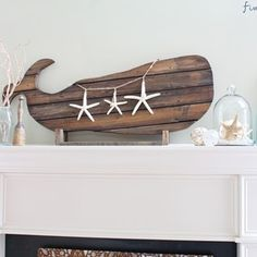 Check out this project on RYOBI Nation - A perfect summer decorating idea - with a few simple steps you can turn reclaimed wood into a happy wooden whale.