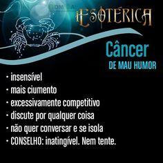 #signosdozodíaco #signo #signos #mauhumor #câncer