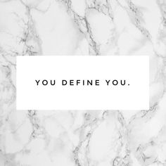 Black and white inspiration quote