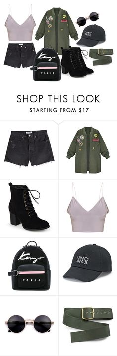 """outfit"" by krnas on Polyvore featuring Frame, WithChic, Journee Collection, Kenzo, SO and Monse"