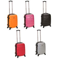 pink please  http://www.overstock.com/Luggage-Bags/Rockland-Melbourne-20-inch-Spinner-Carry-On-Luggage/5641654/product.html?CID=214117 $69.99