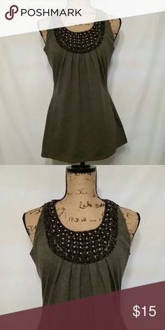 Sioni blouse Sleeveless lace and pearl blouse Sioni Tops Blouses