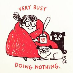Happy Saturday!!!! ❤️❤️ #saturdaymorning#weekend#rnr#coffee#pugs#cozy#puglife#gemmacorrell#art