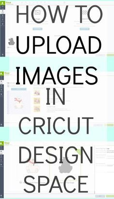 How to Upload Your Own Images into Cricut Design Space