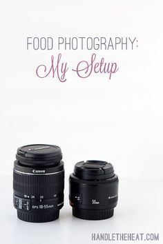 Food Photography Setup from Handle the Heat
