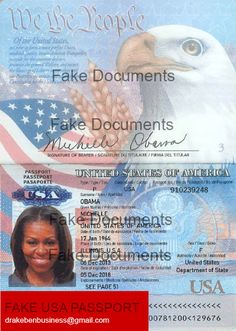 Need a Fake USA OR Other Countries Passport? 100% Original New Passport, Passport Card, Passport Online, Passport Template, Id Card Template, Apply For Passport, Fake Birth Certificate, Driver License Online, Movies