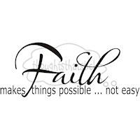 for the things hoped for and unseen...as we walk by faith and not by sight! :) the only journey to take