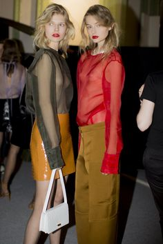 @ninaricci S/S 2016  @backstageat  See more  @voguemagazine: http://bkstge.at/PFW-PHOTO-DIARY-VOGUE