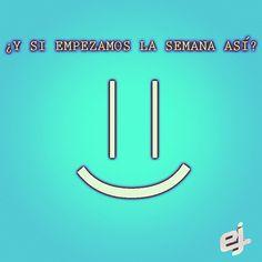 Es de valientes poner una sonrisa a pesar de las circunstancias ¡Empieza tu semana con una sonrisa! =)