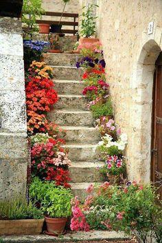 Steps beautiful.