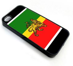 Rasta Lion Rastafarian - iPhone 4 Case, iPhone
