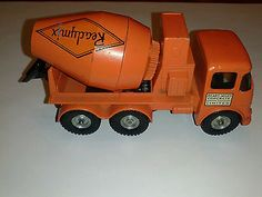 MATCHBOX KING SIZE K13 READYMIX CEMENT CONCRETE TRUCK VINTAGE READY MIXED LESNEY - http://www.matchbox-lesney.com/25894