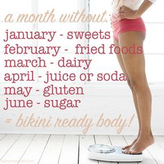 Shape Up: The Off-Limits List (to Your Bikini Body) Could I actually do this?