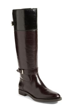a51428e92fc  Eero  Leather Boot (Women) by Enzo Angiolini on  nordstrom rack Wide Calf