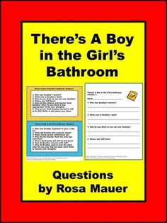 theres a boy in the girls bathroom by louis sachar receive comprehension questions and answers - Theres A Boy In The Girls Bathroom